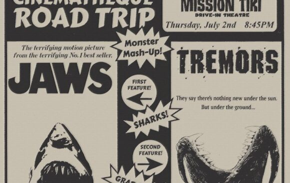 Road Trip to the Drive-In: JAWS / TREMORS